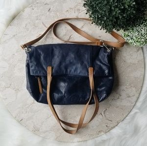 Hobo The Original Black Genuine Leather Handbag